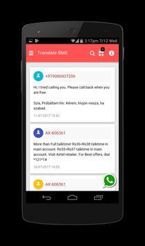 Translate SMS to Hungarian - Fordítás sms screenshot 1