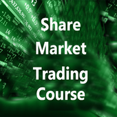 Share market trading course icon