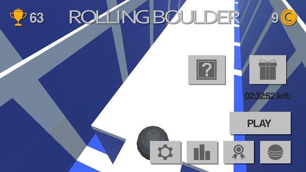 Rolling Boulder - Arcade Game poster