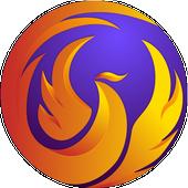 Phoenix Browser - 影片下載, 保護隱私, 快速上網 圖標