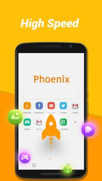 Phoenix browser-Fast browsing  NetVideo Hunter poster