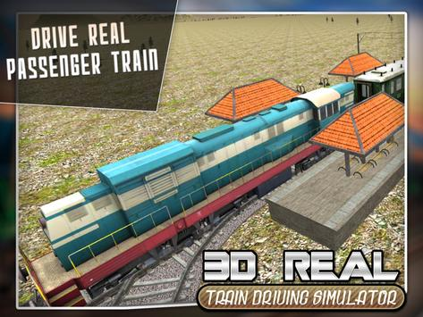 Real Train Drive Simulator 3D screenshot 16
