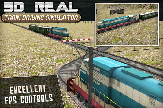 Real Train Drive Simulator 3D screenshot 2