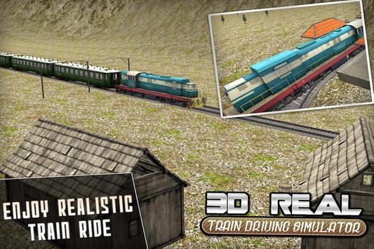Real Train Drive Simulator 3D screenshot 4