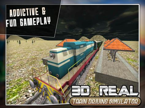 Real Train Drive Simulator 3D screenshot 8