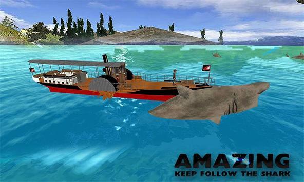 Transport Truck Sea Shark Hunt apk screenshot