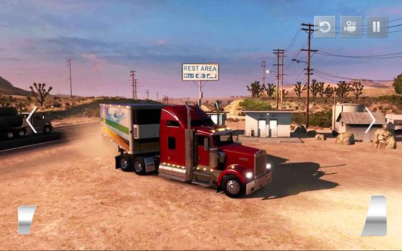 Transporter Truck 2018: Cargo Driving Simulator 3D screenshot 10
