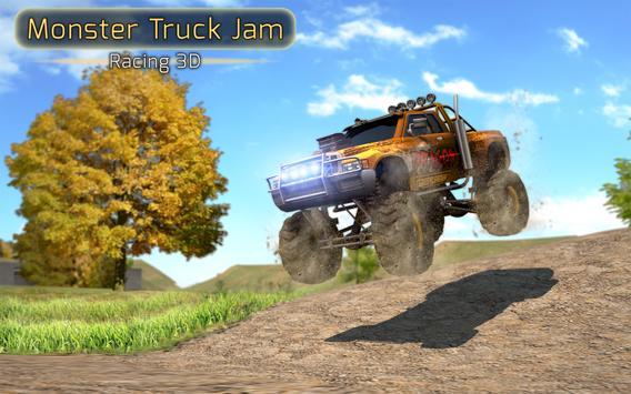 Monster Truck Jam Racing 3D poster