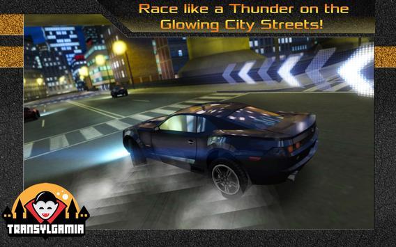 Street Thunder 3D Night Race screenshot 5