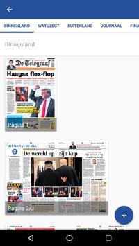 De Telegraaf Krant apk screenshot