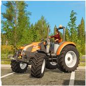 Farm Simulator 2018: Cargo Tractor Driving Game 3D icon