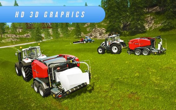 Farm Simulator 2018: Cargo Tractor Driving Game 3D screenshot 7