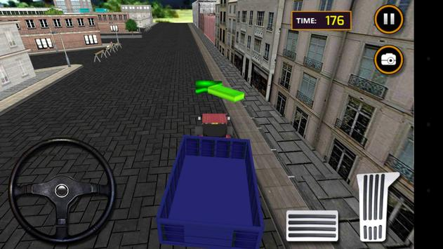 Tractor Sand Transporter 3D screenshot 1