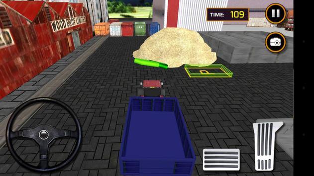 Tractor Sand Transporter 3D screenshot 2