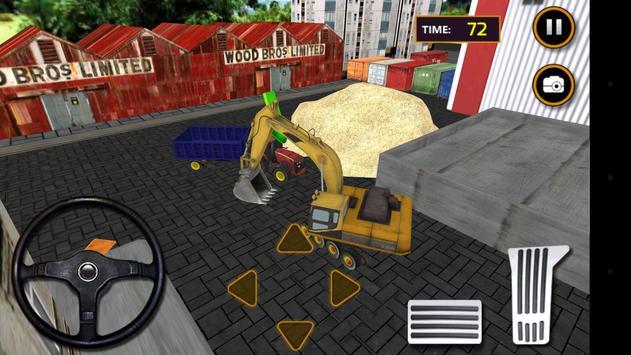 Tractor Sand Transporter 3D screenshot 5