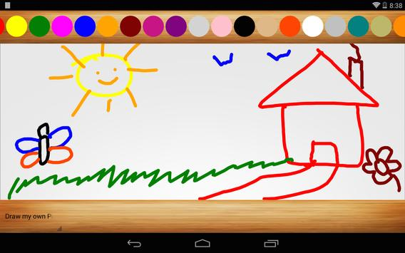 Finger Painting: Trace ABC 123 apk screenshot