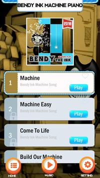 Bendy Ink Machine Easy PIano Game poster