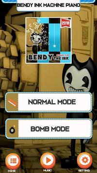 Bendy Ink Machine Easy PIano Game screenshot 1