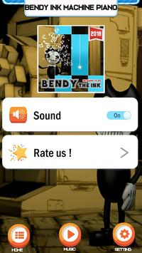 Bendy Ink Machine Easy PIano Game screenshot 2