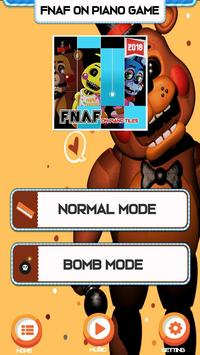 Piano Five Nights at Freddy's Song Game Trend screenshot 1