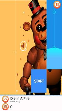 Piano Five Nights at Freddy's Song Game Trend screenshot 2