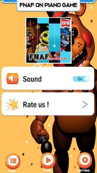 Piano Five Nights at Freddy's Song Game Trend screenshot 3