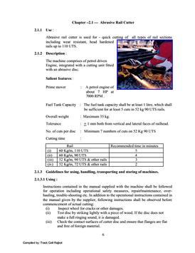 Small Track Machine Manual apk screenshot