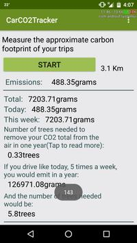 Car CO2 Tracker poster