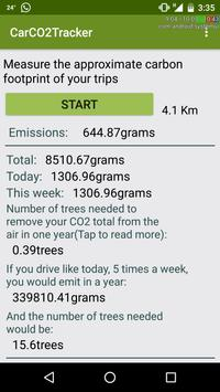 Car CO2 Tracker apk screenshot