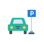 Parking tracking icon