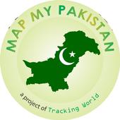 Map My Pakistan icon