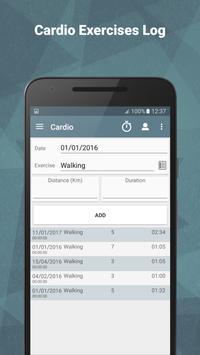 Gym Workout Tracker - Trackio apk screenshot