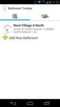 Bathroom Tracker poster