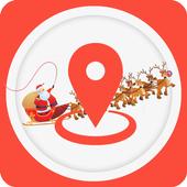 Tracking Santa Claus Radar icon