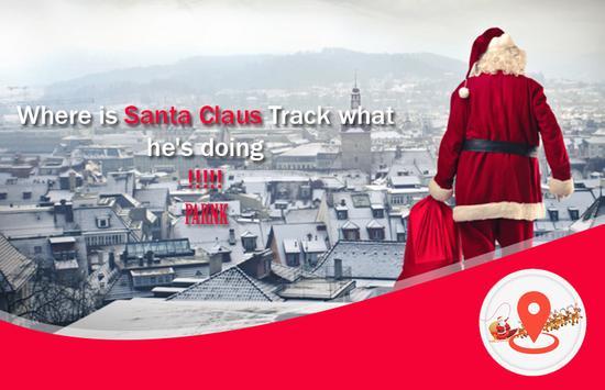 Tracking Santa Claus Radar poster