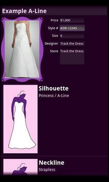 Track the Dress Lite screenshot 1