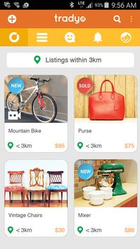 Tradyo: Buy & Sell locally poster