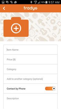 Tradyo: Buy & Sell locally apk screenshot