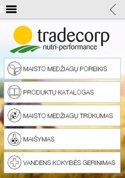 Tradecorp  Lietuva poster