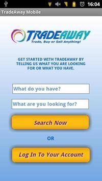 TradeAway App poster