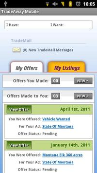 TradeAway App screenshot 1