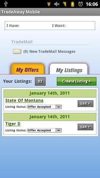 TradeAway App screenshot 2
