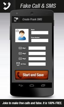 Fake Call & Texting apk screenshot