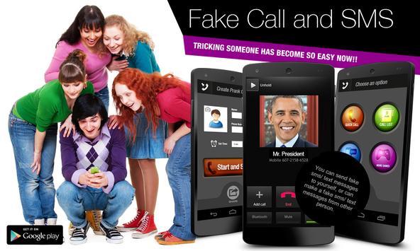 Fake Call & Texting poster