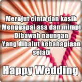 Kata Kata Ucapan Selamat Pernikahan icon