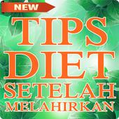 Tips Diet Setelah Melahirkan icon