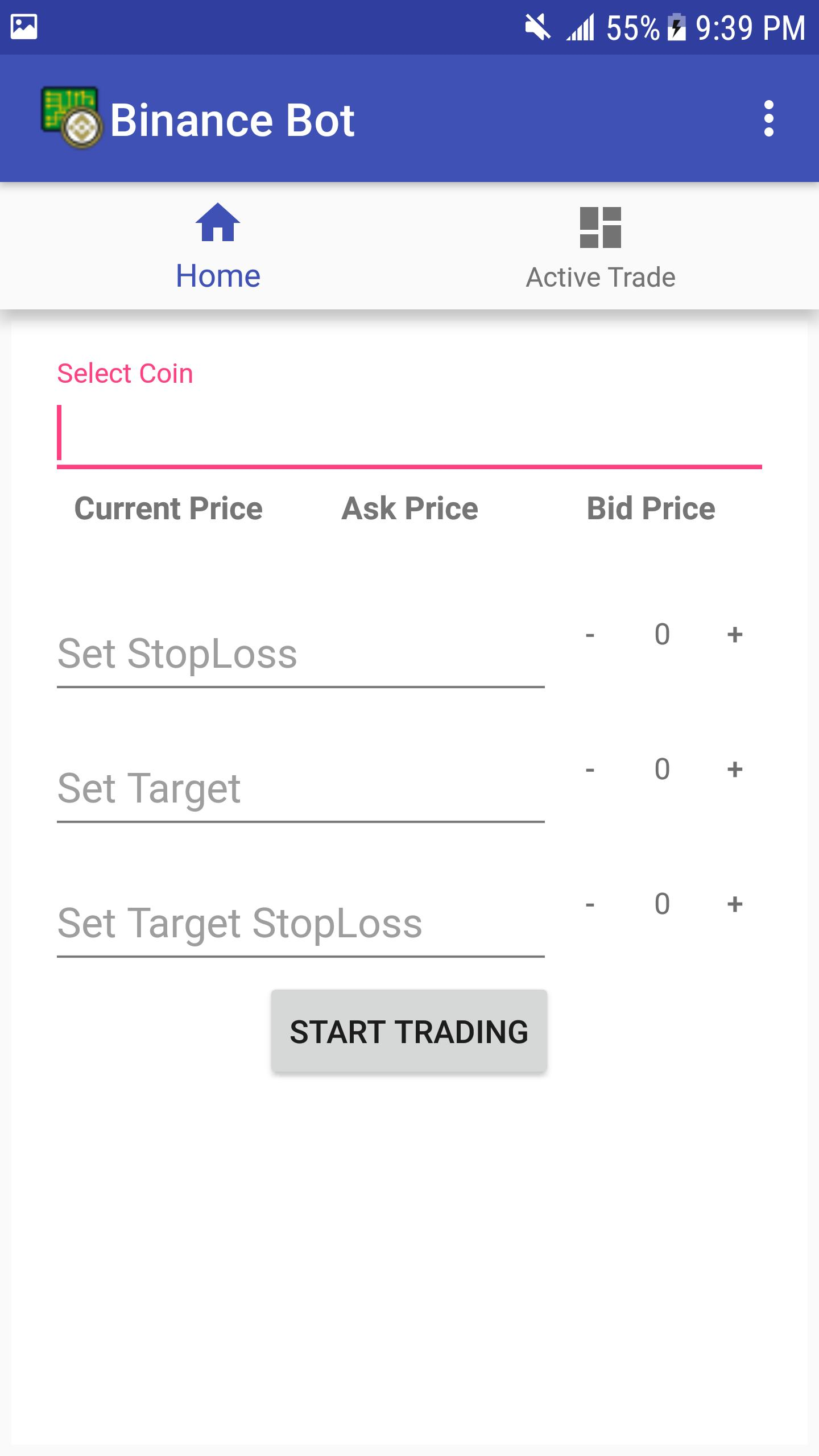 Binance Bot for Android - APK Download