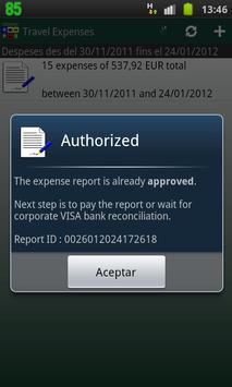 Tradisa Travel Expenses apk screenshot