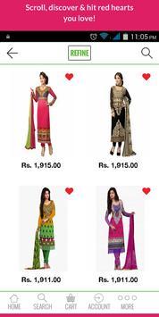 Traditional2Trendy Fashion App screenshot 1
