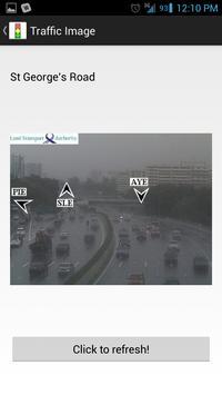 Singapore Traffic Info poster